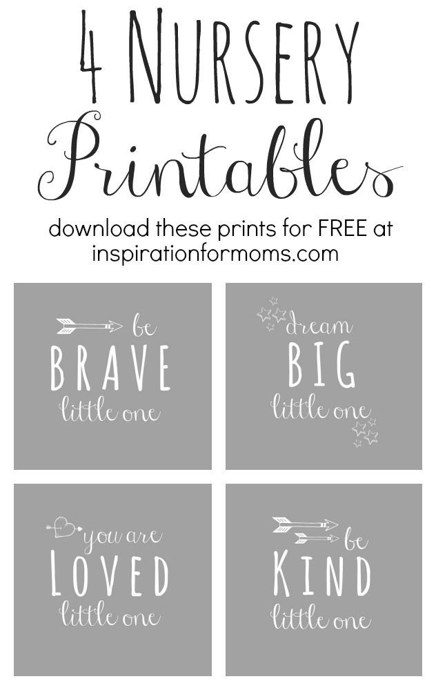 nursery art printables at inspiration for moms