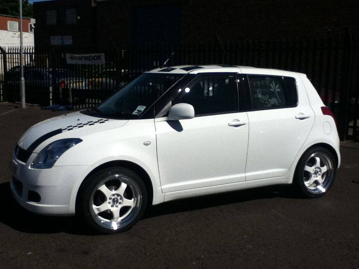 Worksheet. Suzuki swift fitted with ZCW R5 alloy wheels at Foxhunters Tyres