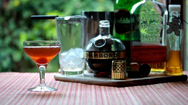 SCARLETT SCOTCHMAN:  It doesn't take a genius to work out how I arrived at the name for this cocktail. Mix your own with Scotch, bourbon, Chambord and ginger syrup. Recipe on the blog.