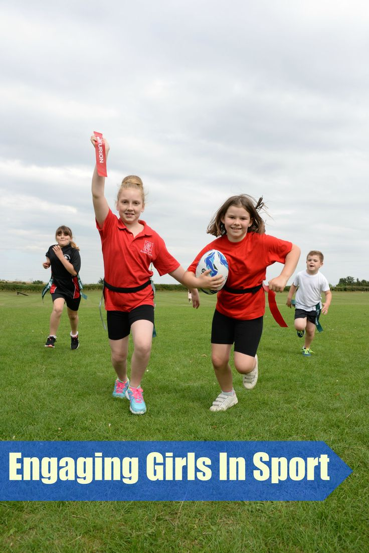 Tag rugby for engaging girls in sport #LearningThroughSport #LearningIsFun