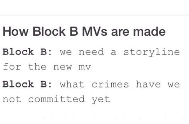 I think they're actually doing it like this ... it's still Block B.