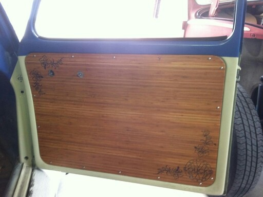 Vw Bug Camper >> Custom bamboo door panels | Slammed VW Bug | Panel doors, Interior, Bamboo