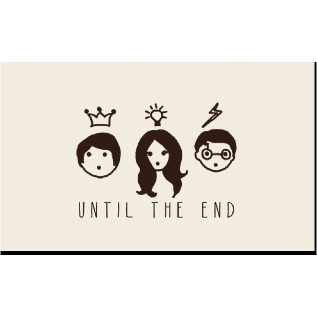 Harry Potter Wallpaper We Heart It: 1000+ Images About The Trio On Pinterest