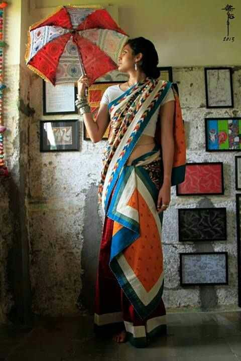 My experimental sari days may be closed as I draw nearer to western wear, but this board is about dreams, no?