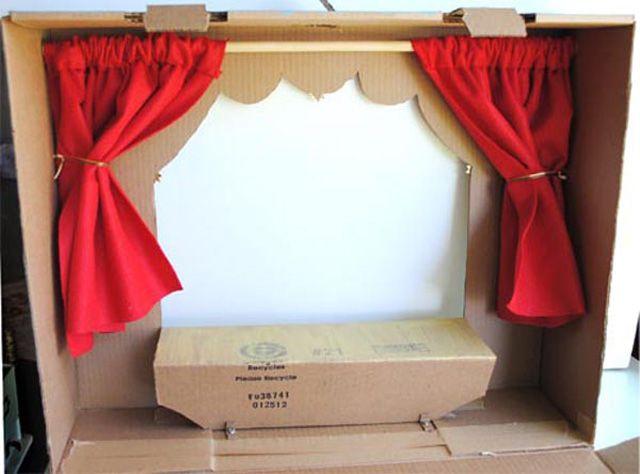 Как сделать ширму для кукольного театра, настольная ширма, декорации, мастер классы