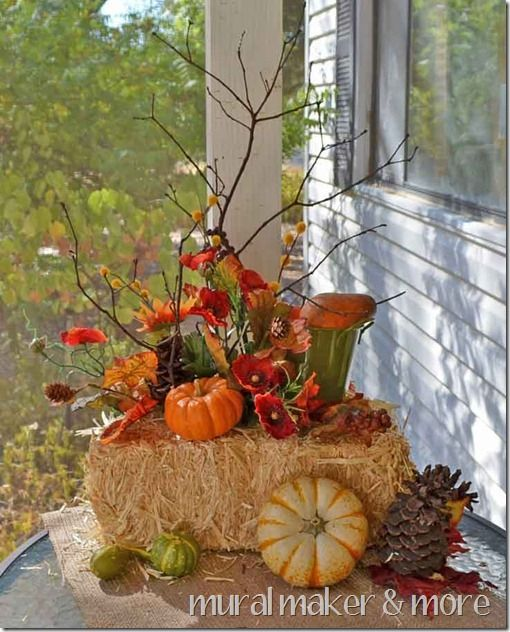 Fall Porch Decorating Ideas Part 35