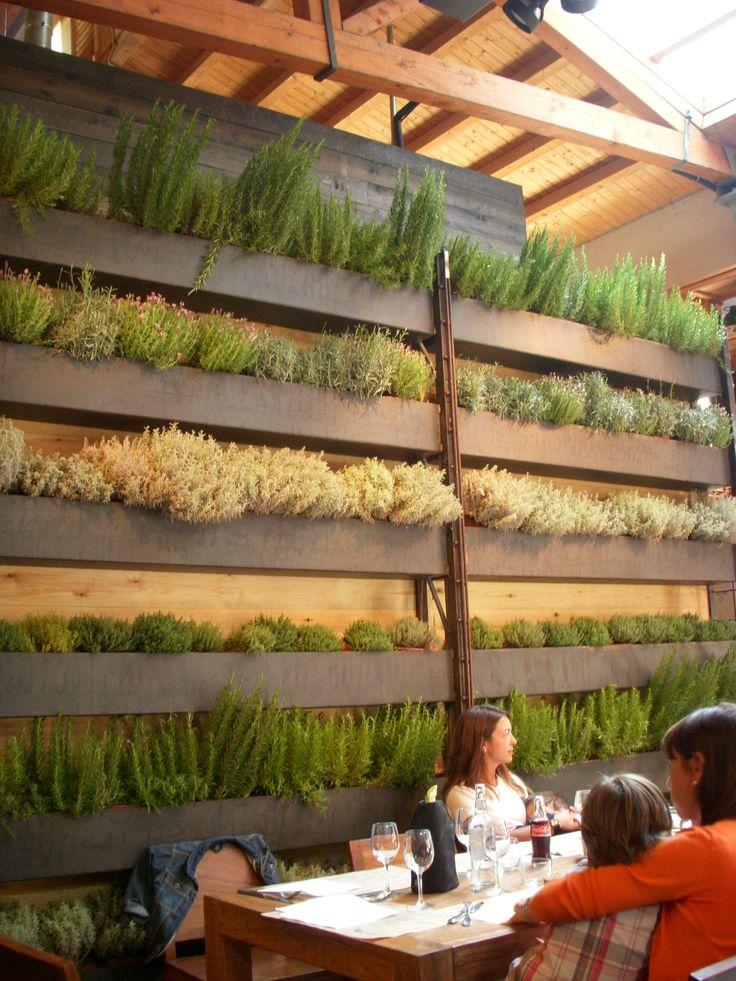 vegetal Wall in Barcelone