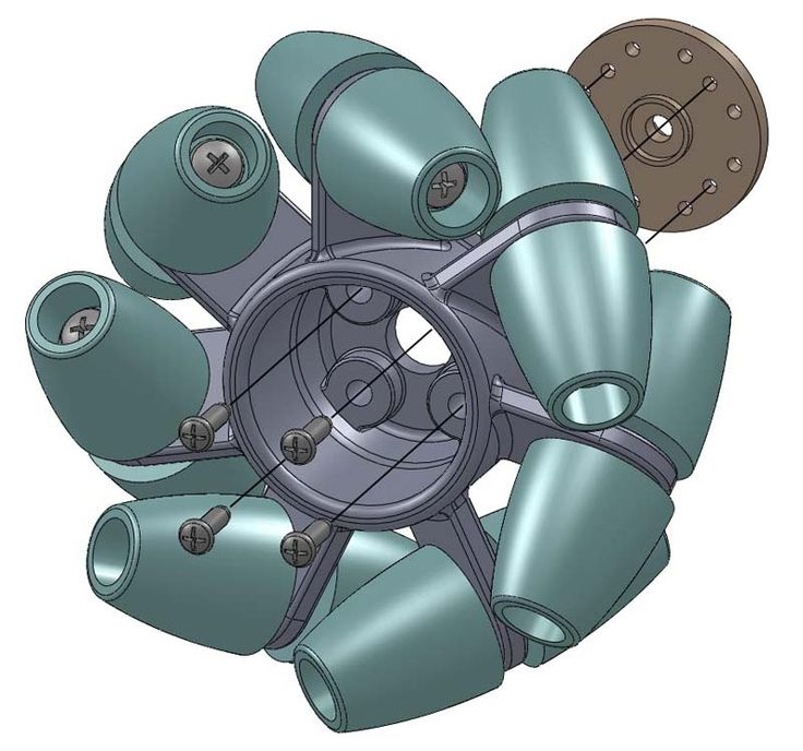 The OddBot is a little mecanum wheeled omnidirectional robot specifically designed to be 3D printable on almost any 3D printer, ranging from the Up! printer to high end laser sintering systems.  www.odd.org.nz;