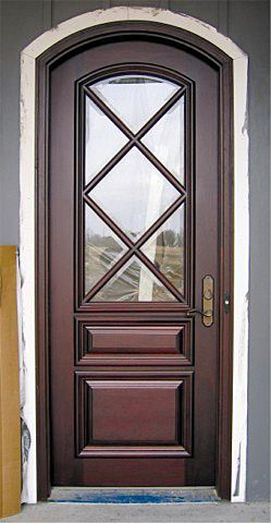 Country French Exterior Wood Entry Door Style DbyD-2041 & 26 best Amazing Green Houses images on Pinterest | Green homes ... pezcame.com