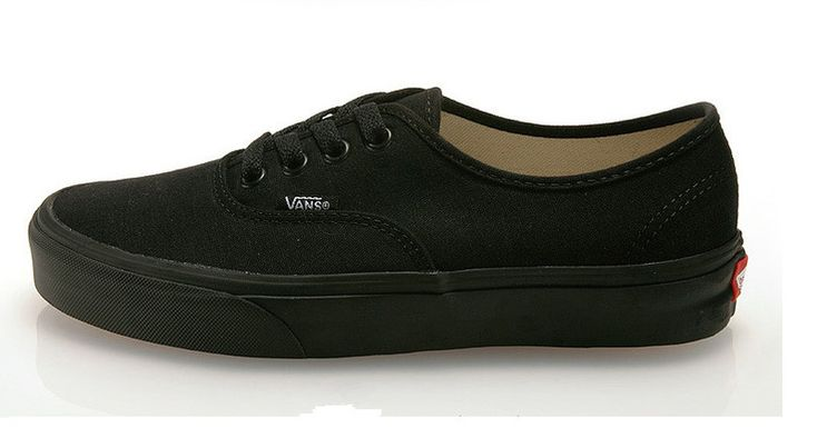 all black vans shoes