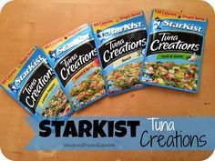 Check out my StarKist Tuna Creations Review + Two Recipes, including Tuna Dip...and it's super tasty!! #StarKist #recipes #TunaCreations