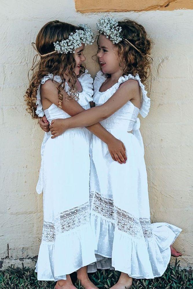 Wedding small dress Toddler girl dress Lace flower girl dress Rustic Girl Dress Ivory Tulle Dress girls party dress kid cream girls dress