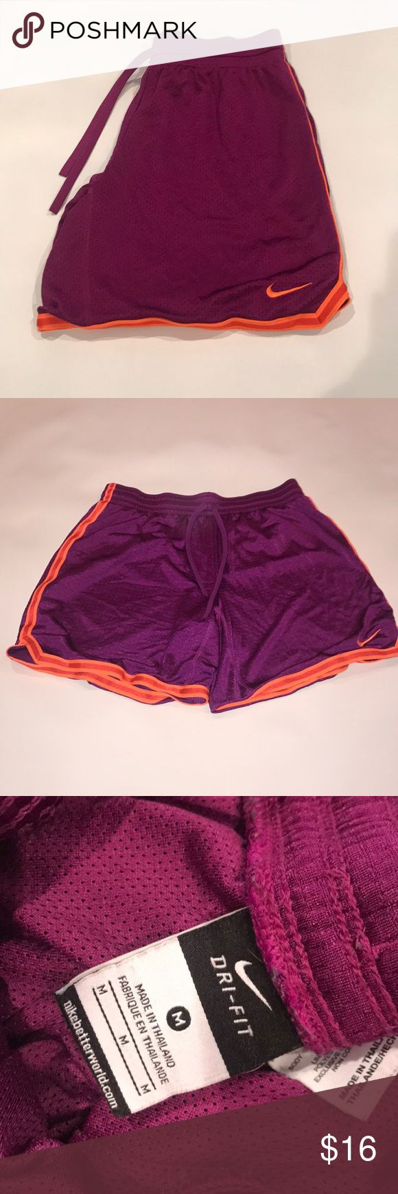 Nike Athletic Shorts M Purple 0187 Nike Athletic Shorts M Purple Nike Shorts