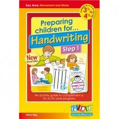 Preparing children for Handwriting Step 1