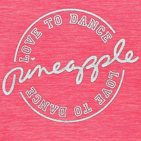 Pineapple Girls' pink foil-effect logo print vest top | Debenhams