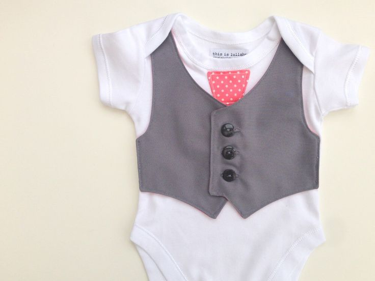 how to put a vest on a newborn baby