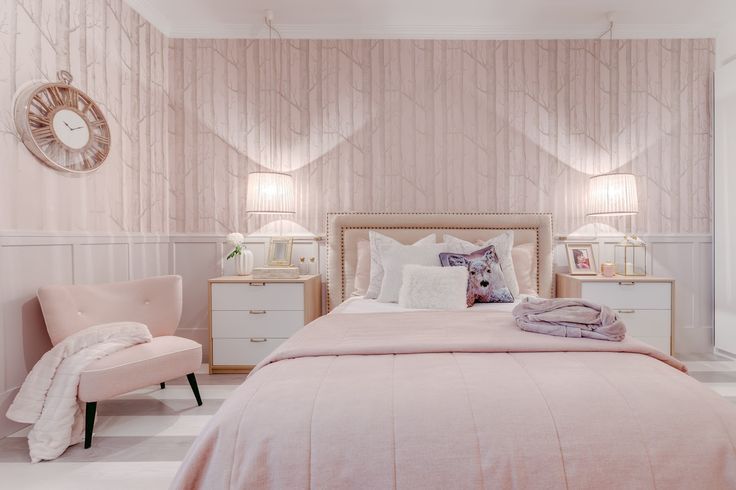 500 best Pink Bedrooms for grown-ups images on Pinterest ...