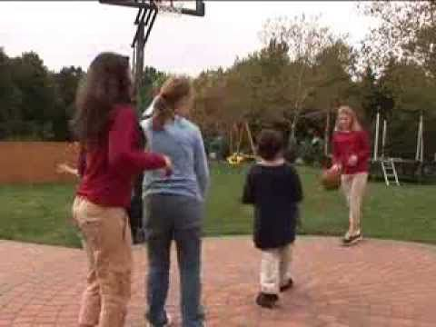 """Learn how to play Basketball with Friends - lots of language, social skills, gross motor skills, help a friend, learn the game and more!!!!   In our """"Friends"""" video!"""