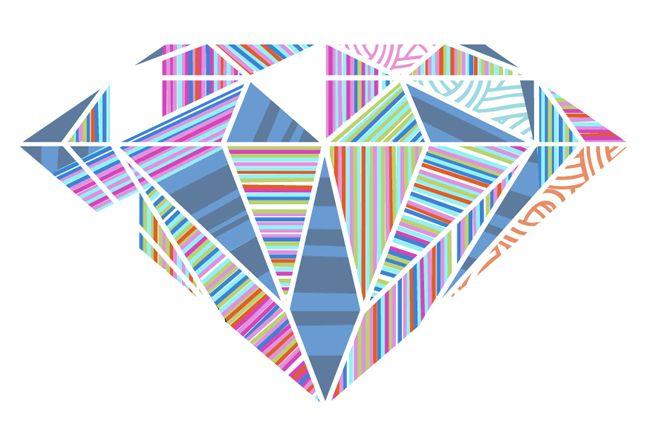 Diamond Mine. Illustrated by Thom Sevalrud.   Represented by i2i Art Inc. #i2iart
