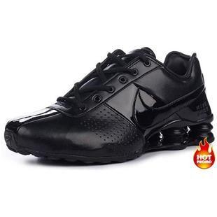 http://www.asneakers4u.com/ Mens Nike Shox Deliver Full Black
