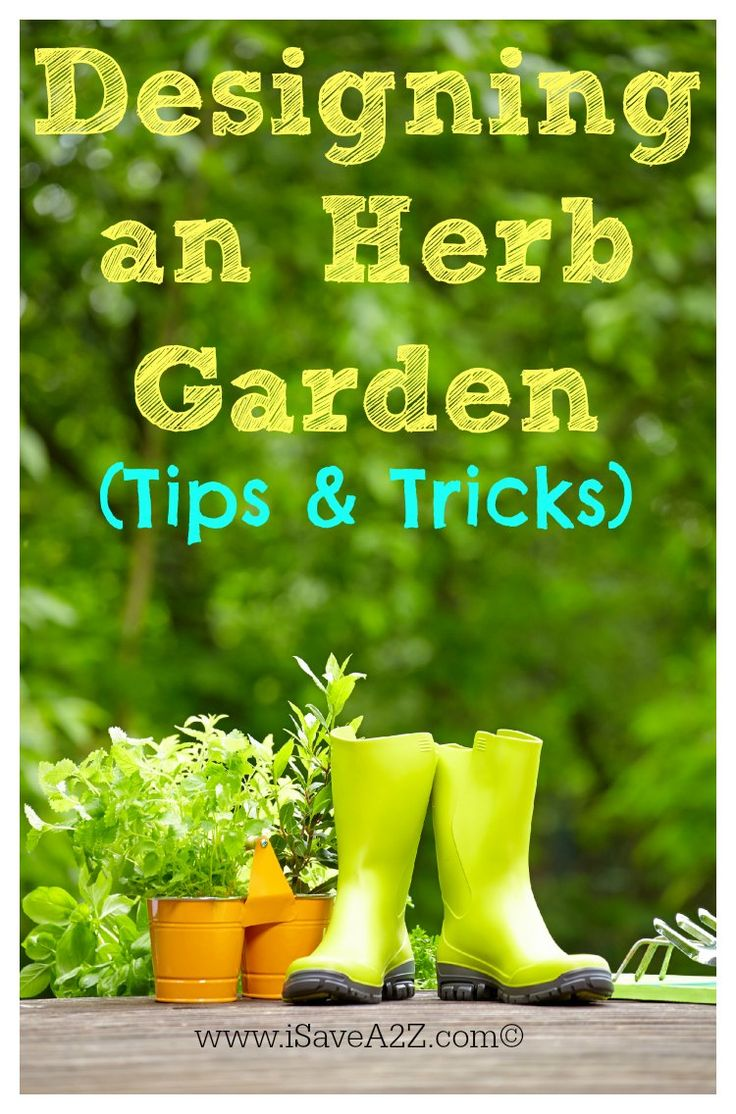 Versatile Herb Garden Design tips and tricks you need to know in the planning phase!  Good Information on this one!!!  #Gardening