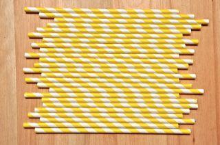 Sorbetes amarillos