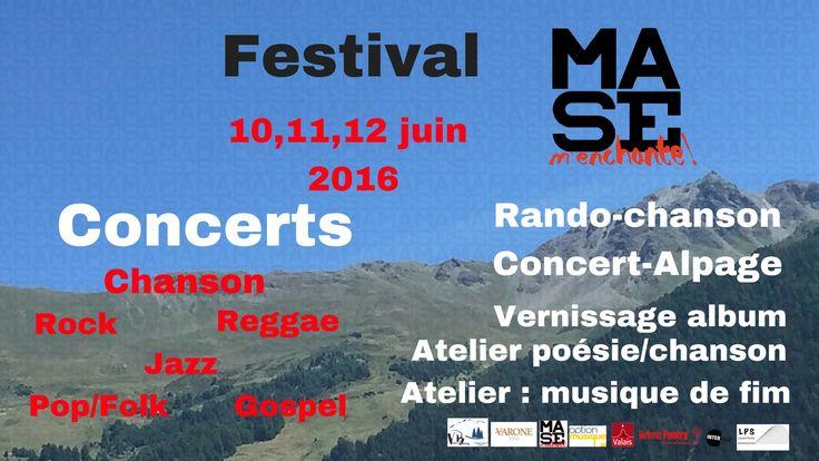 Festival Mase m'enchante : Vendredi 10 et les coucous