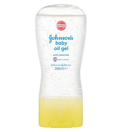 Johnsons Baby Oil Gel - 200ml - Boots