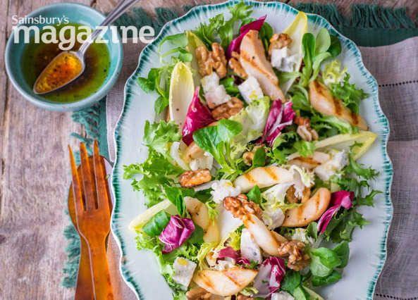 Gorgonzola and pear salad recipe | Homemade