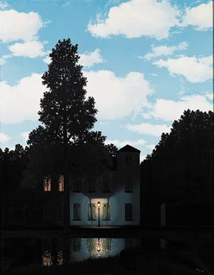 MAGRITTE René - Belgian (1898 -1967) - SURREALISM - Peggy Guggenheim collezione Venice