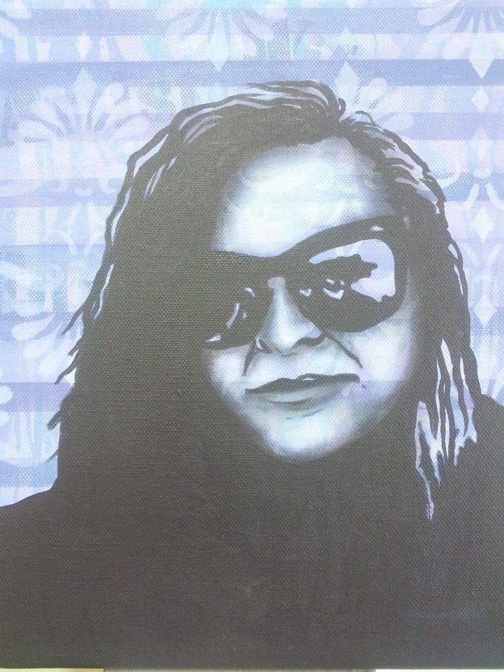 Example for pop art inspired Portrait - Andrea Duregon