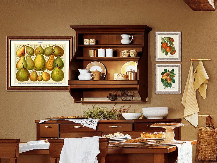 Obrazy ovoce v interiéru, jídelně