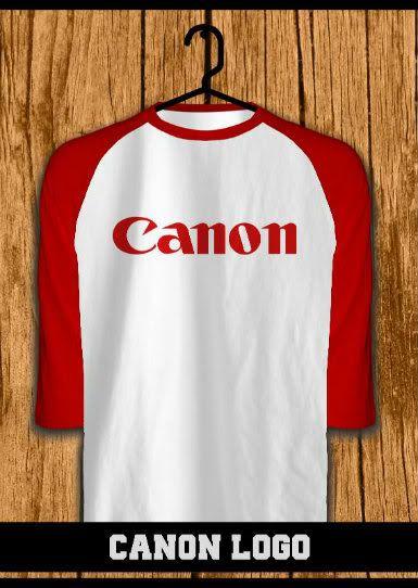 ourkios - Canon Logo Red Raglan