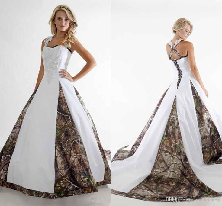2016 New Camo Princess Wedding Dresses Spaghetti Appliques A Line Sweep Train Elegant Country Bridal Gowns Vestido De Noiva Customed Made Wedding Dresses Camo Wedding Dresses Country Weeding Dresses Online with $169.0/Piece on Modeldress's Store | DHgate.com