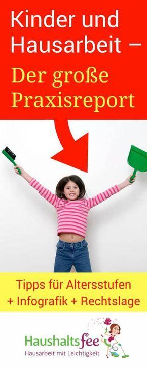 Kinder und Hausarbeit – der große Praxisreport | Haushaltsfee.org