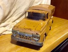 Tonka Sportsman Ford Pickup Truck & Topper1960s pressed steel Mound Minn
