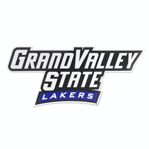 Grand Valley State University Lakers Gvsu Long Car Window Etsy Grand Valley State University Grand Valley State Grand Valley