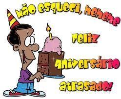 Não esqueci... Feliz Aniversário atrasado! #felicidades #feliz_aniversario #parabens
