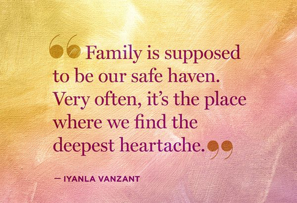 Iyanla Vanzant: 5 Thoughts to Remember During a Family Breakdown - @Helen Palmer Palmer George #FixMyLife