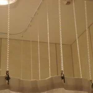 Shower Curtain Extension Chain