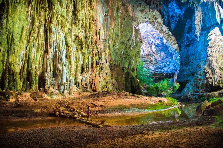 Caverna Janelão, em Januária, no estado de Minas Gerais, Região Sudeste do Brasil — em foto de Edgar Corrêa.