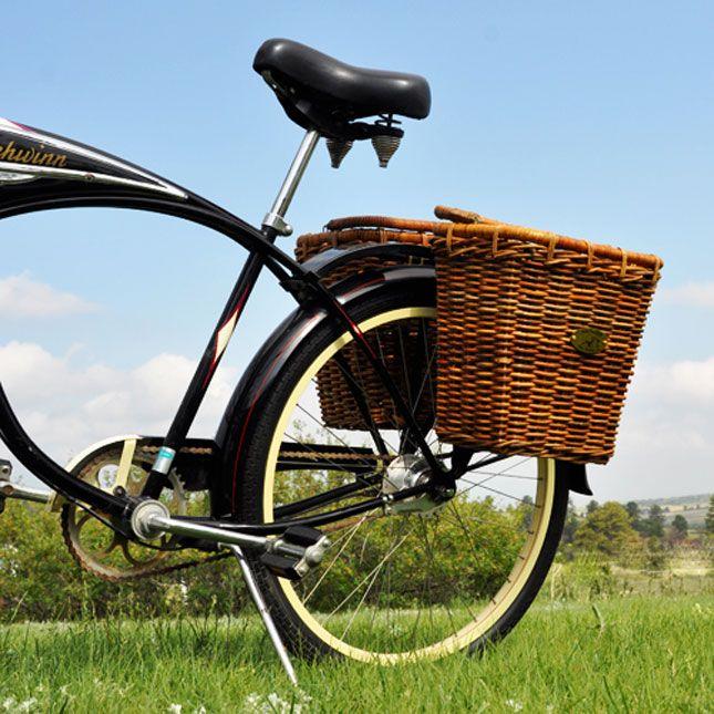 Pannier Bike Basket | 15 Bike Baskets and Panniers
