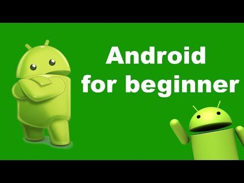How to learn android programming for beginners - android tutorials - YouTube