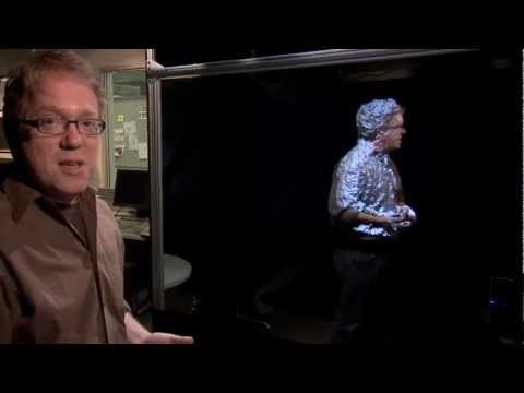 Holograms are finally a reality! :) AWESOME!