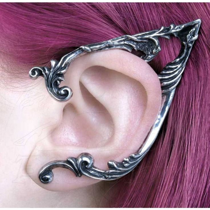 Alchemy Gothic - Arboreus Ear Wrap Earring Left