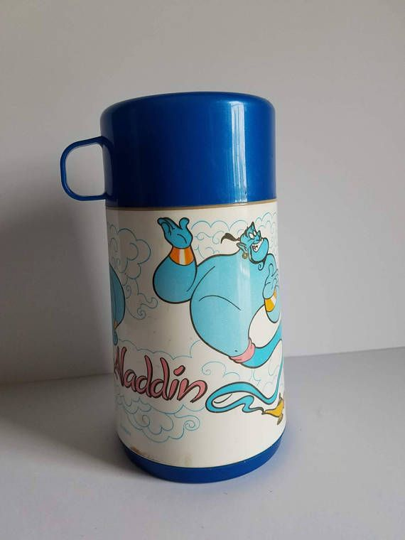 Hey, I found this really awesome Etsy listing at https://www.etsy.com/listing/538759000/vintage-disney-aladdin-thermos-insulated
