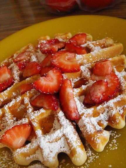 Weight Watchers Belgian Waffles recipe – 4 points