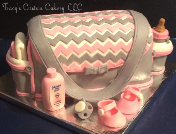 Coach Bag Baby Shower Cakes Pinterest