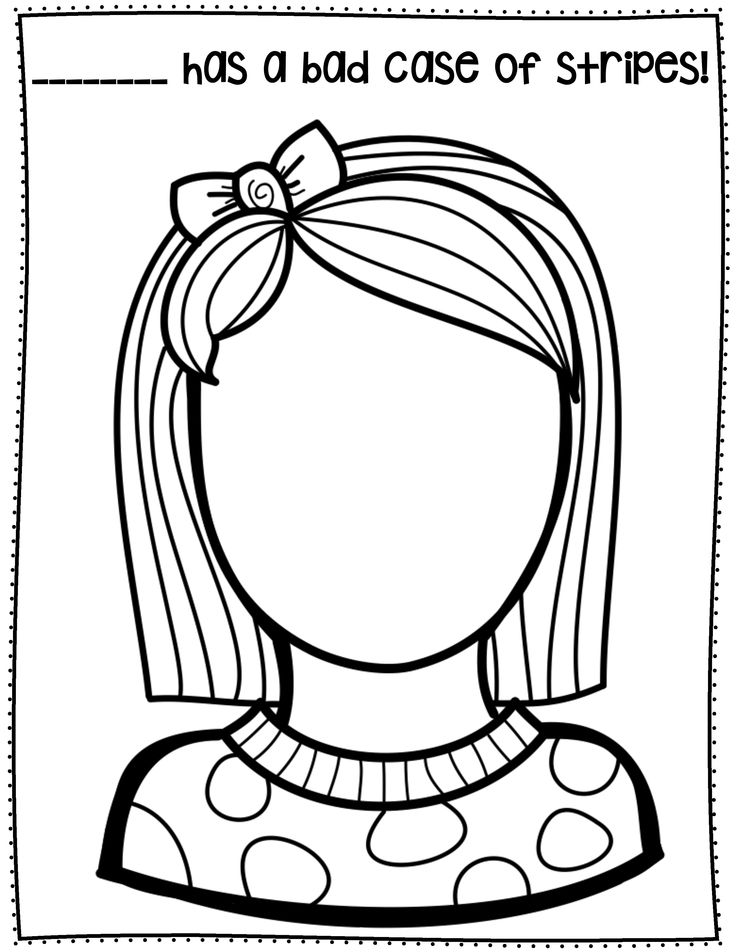 a bad case of the stripes coloring page - the 25 best kindergarten substitute activities ideas on