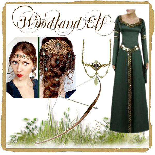 Woodland Elf Fantasy costuming Woodland Elf, Elven-6804